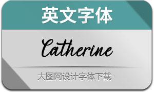 Catherine(英文字体)