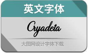 CryadetaScript(英文字体)