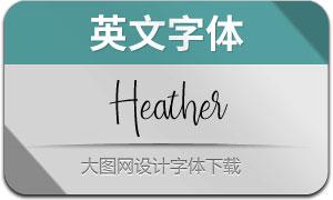 Heather(英文字体)