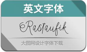 Rastaufik(英文字体)