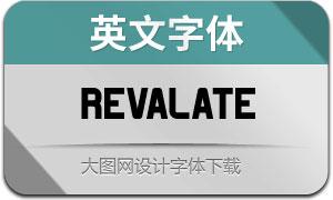Revalate(英文字体)