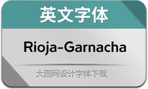 Rioja-Garnacha(英文字体)