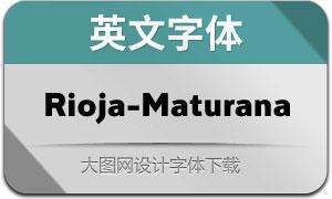 Rioja-Maturana(英文字体)