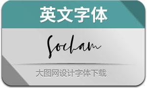 Socham(英文字体)