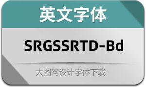 SRGSSRTypeDisp-Bold(英文字体)