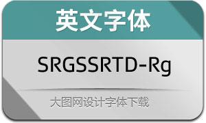 SRGSSRTypeDisp-Reg(英文字体)