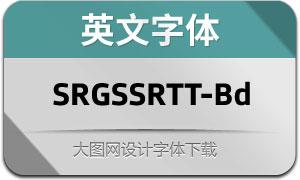 SRGSSRTypeText-Bd(英文字体)
