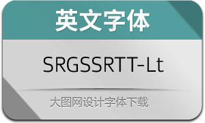 SRGSSRTypeText-Light(英文字体)