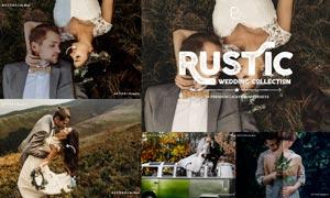 20款婚礼照片欧美主题风格效果LR预设