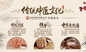传统中医文化宣传海报设计PSD素材