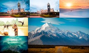 134款旅游照片后期美化处理LR预设