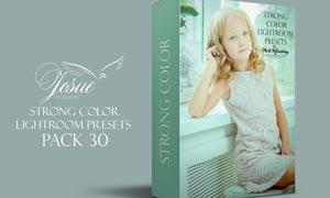 30款儿童照片绚丽的色彩LR预设
