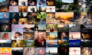 400多款数码照片后期美化LR预设集合