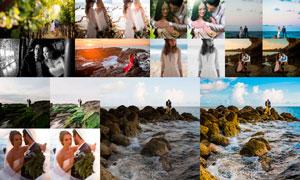 菲律宾主题婚礼人像摄影LR后期预设