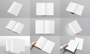 画册宣传册等印刷效果贴图模板文件