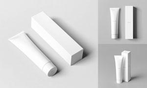 牙膏包装与外包装盒应用贴图源文件