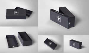 小规格的商品包装盒效果贴图源文件
