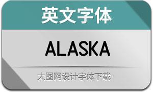 Alaska(英文字体)