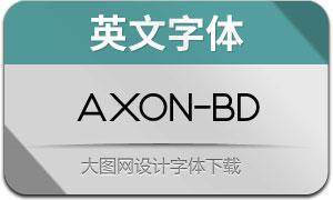 Axon-Bold(英文字体)