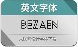 Bezaen(英文字体)