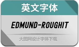Edmund-RoughItalic(英文字体)