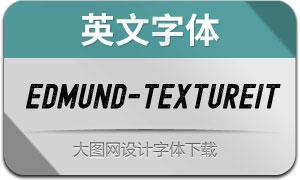 Edmund-TextureItalic(英文字体)