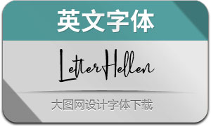 LetterHellen(英文字体)