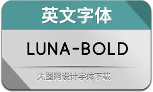 Luna-Bold(英文字体)
