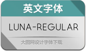Luna-Regular(英文字体)