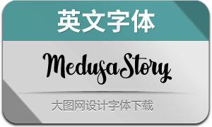 MedusaStory(英文字体)