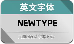 Newtype(英文字体)
