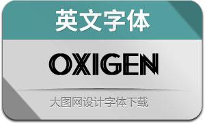Oxigen(英文字体)