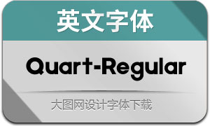 Quart-Regular(英文字体)