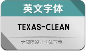Texas-Clean(英文字体)