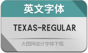 Texas-Regular(英文字体)