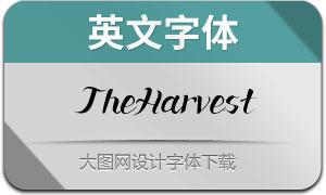 TheHarvest(英文字体)