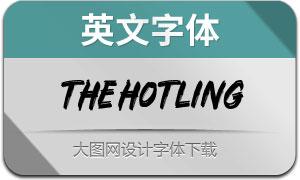 TheHotling系列3款英文字體