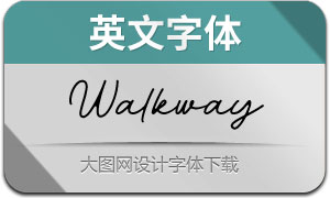 Walkway-Regular(英文字体)