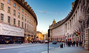英国伦敦街头城市风光摄影高清图片