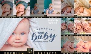 50款新生儿照片后期美化处理LR预设