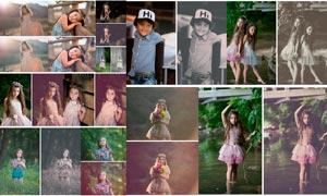 18款儿童照片复古和黑白效果LR预设