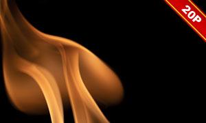 燃烧的火苗主题溶图用创意高清图片