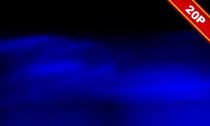 蓝色光效抽象创意溶图适用高清图片