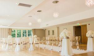 室内婚纱庆典现场布置摄影高清图片