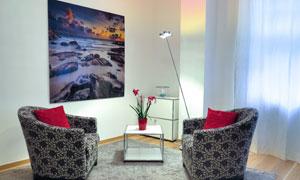 房间沙发抱枕无框画等摄影高清图片