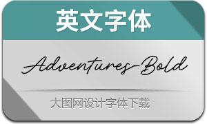 AdventuresUSc-Bold(英文字体)