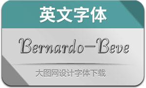 Bernardo-Beveled(英文字体)
