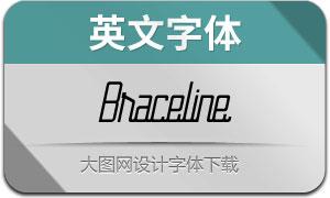 Braceline(英文字体)