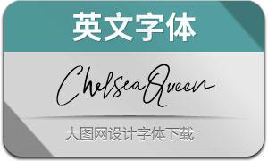 ChelseaQueen系列3款英文字体