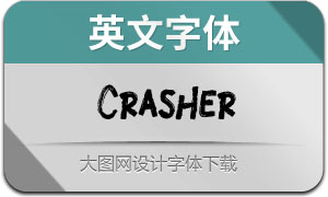 Crasher(英文字体)